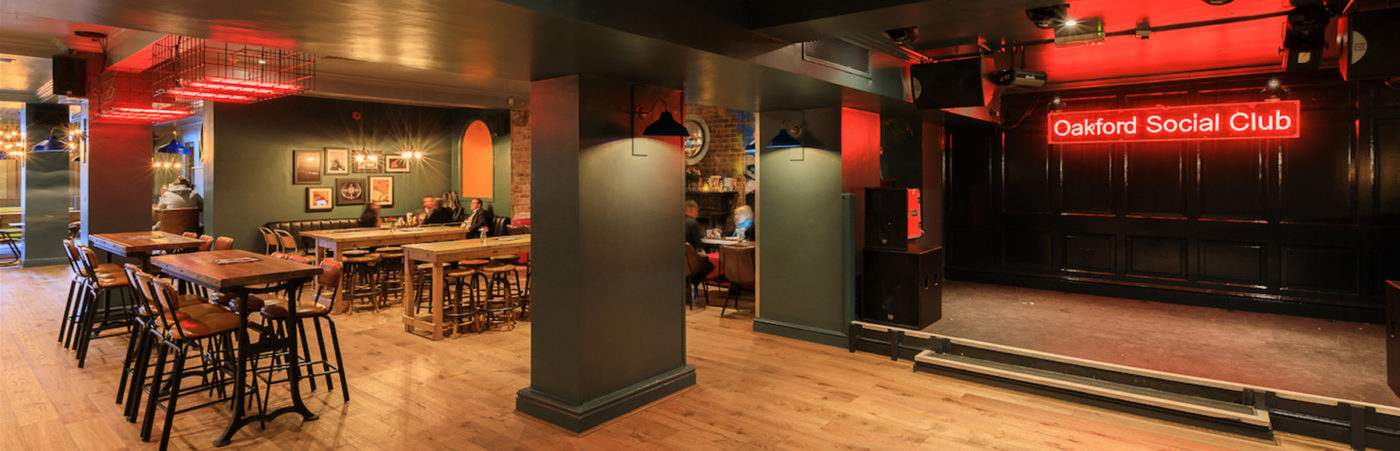 Oakford Social Club Re-opens With A Brand New Look And Sound Hero Image