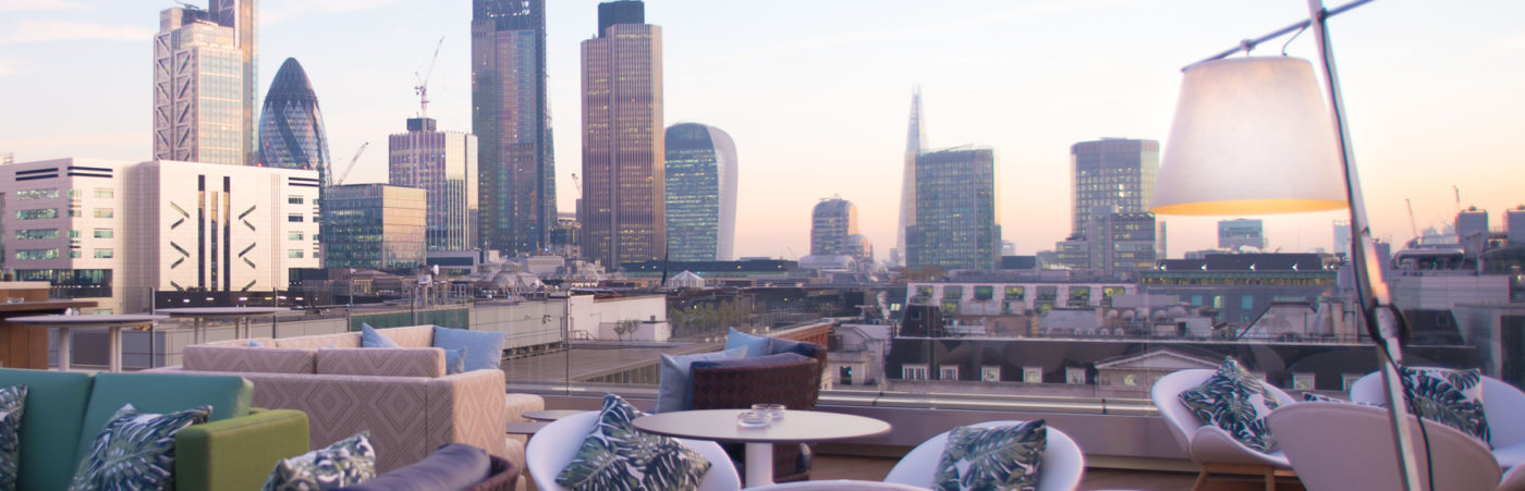 London's Newest Rooftop Destination Takes Flight Hero Image