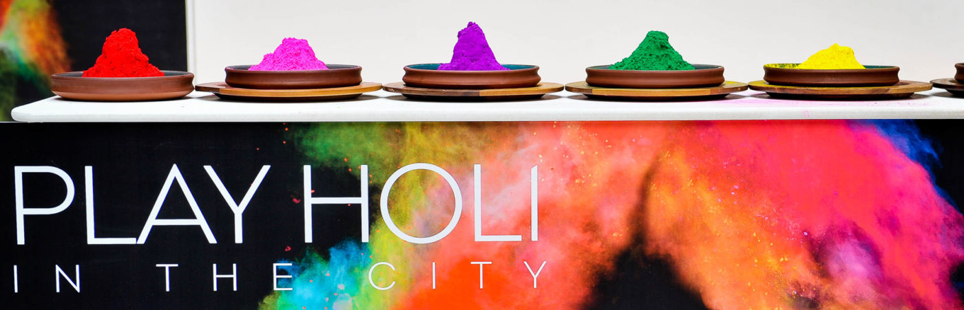 Play Holi in the City at Cinnamon Kitchen 6th – 18th March 2017 Hero Image