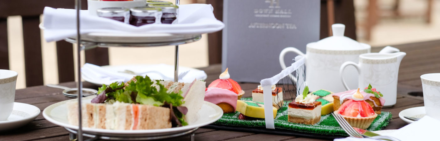 DOWN HALL HOTEL & SPA SERVES UP AN ACE WITH ITS WIMBLEDON-THEMED AFTERNOON TEA Hero Image