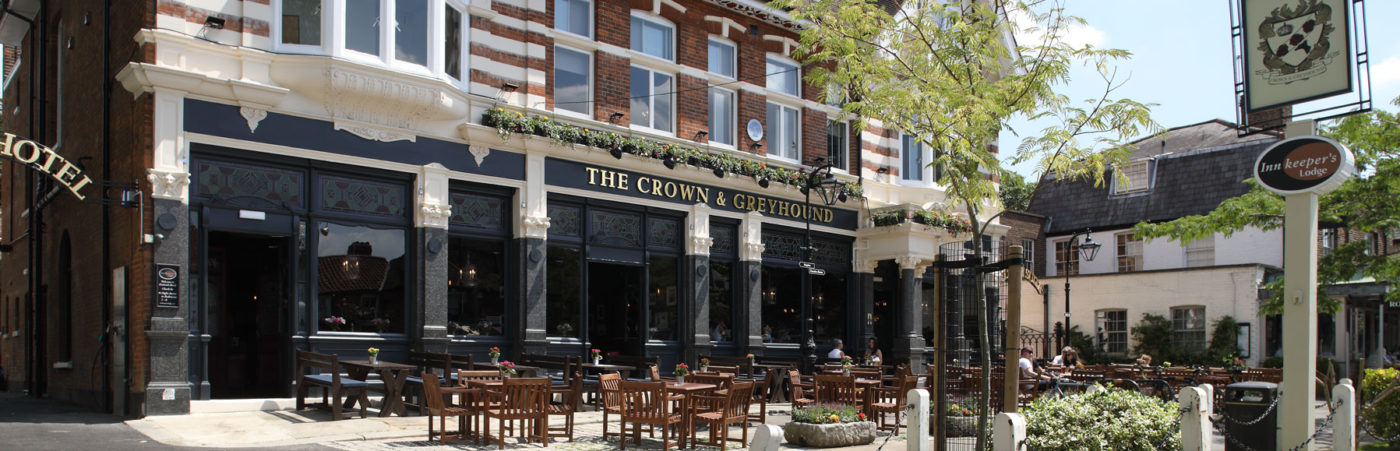 Party Al Fresco with The Crown & Greyhound this Summer! Hero Image
