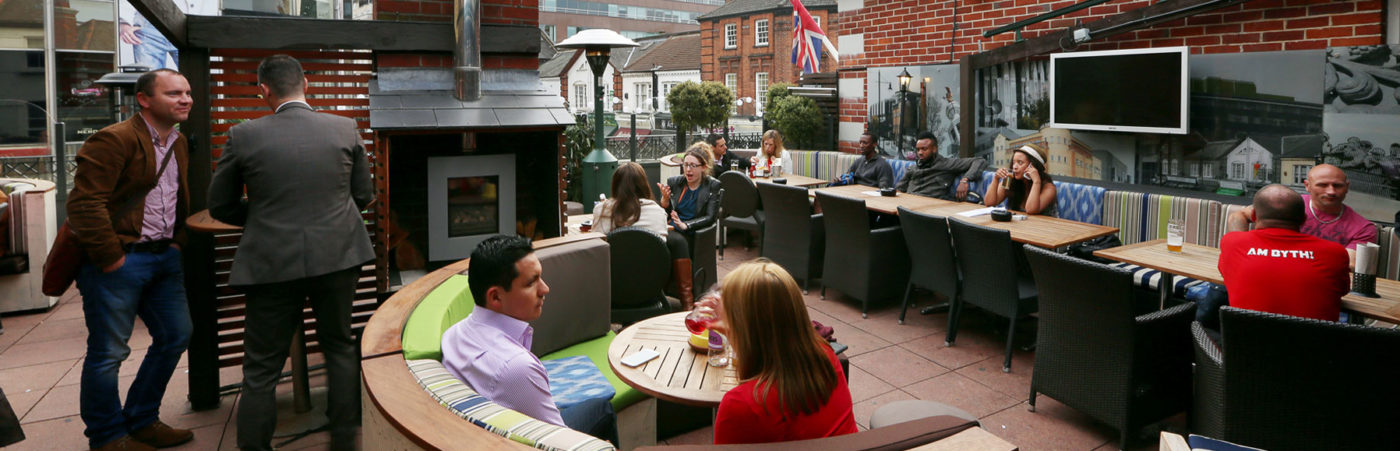 Laidback London Rooftops with Young's Pubs & Geronimo Inns London's Best Kept Secrets Hero Image