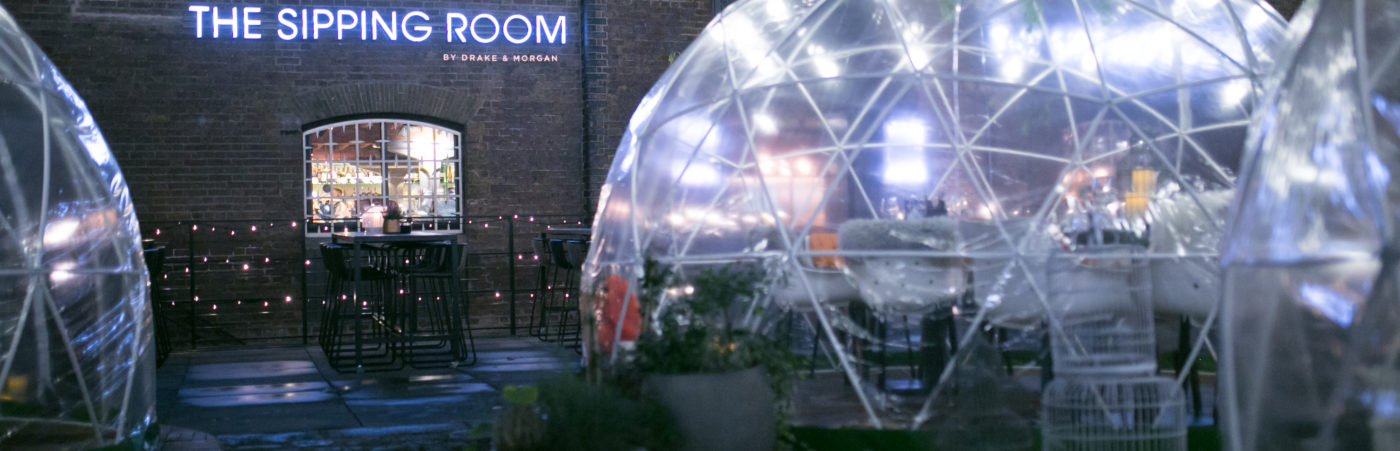 Bringing the arctic to West India Quay: igloos come to The Sipping Room Hero Image