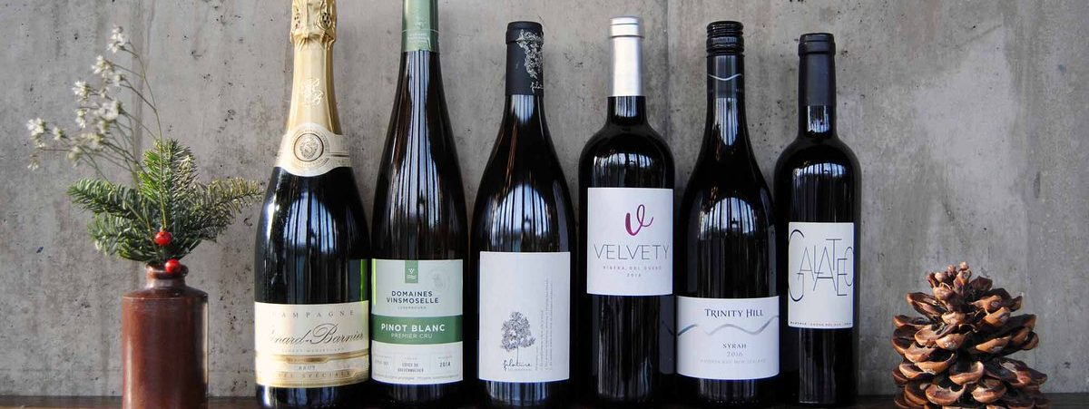 Eat, Drink & Be Merry with Vinoteca's Christmas Day Wine Case Hero Image