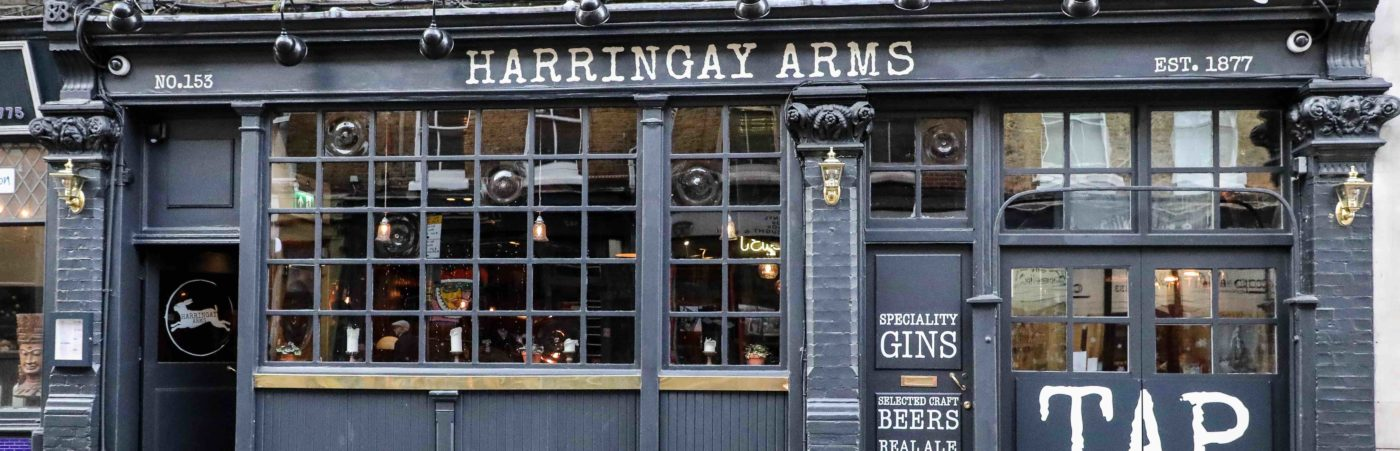 Harringay Arms Pub Reopens in Crouch End with New Look Hero Image