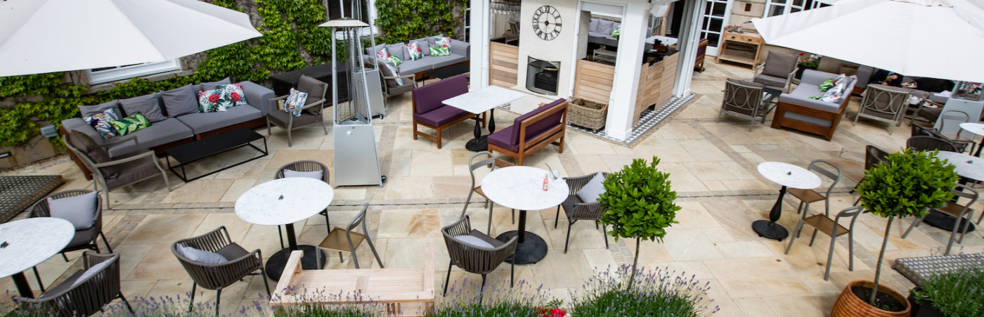 Down Hall Hotel & Spa Launches Summer Terrace Hero Image