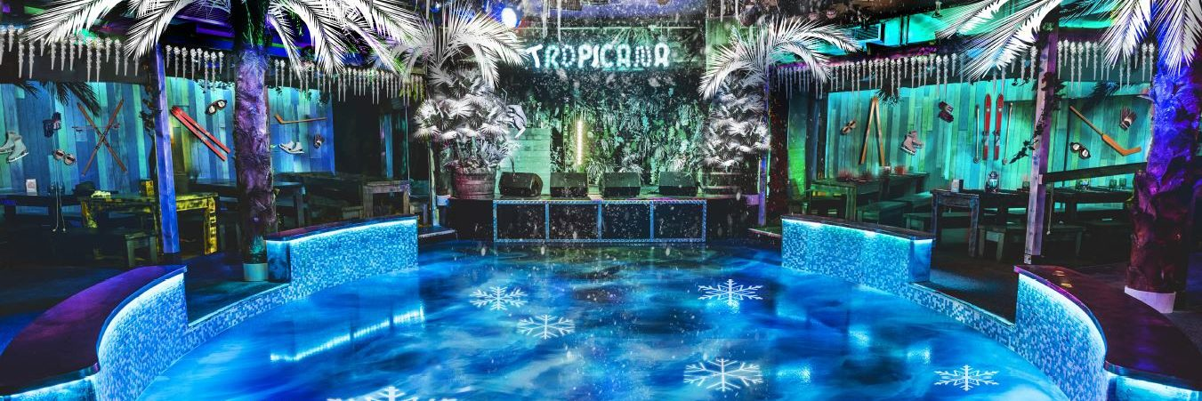 The Big Freeze is Coming to Tropicana Beach Club this Winter Hero Image