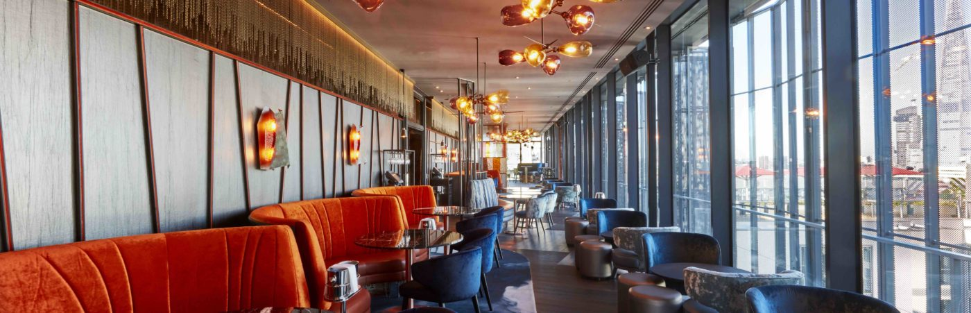Give lunch a swift lift at new rooftop destination Savage Garden Hero Image