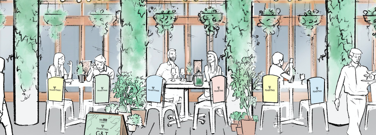 Bar + Block Steakhouse to Launch Pop-Up Gin Terrace with Fever-Tree Hero Image
