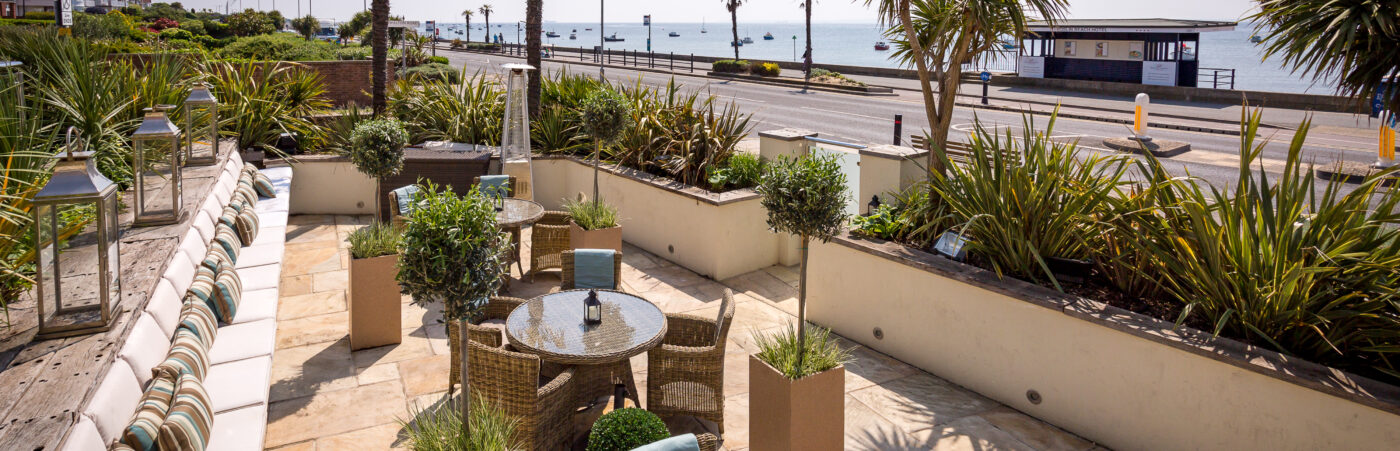 Enjoy Summer by the Sea: The Terrace at Roslin Beach Hotel is now Open with Brand New Menus Hero Image