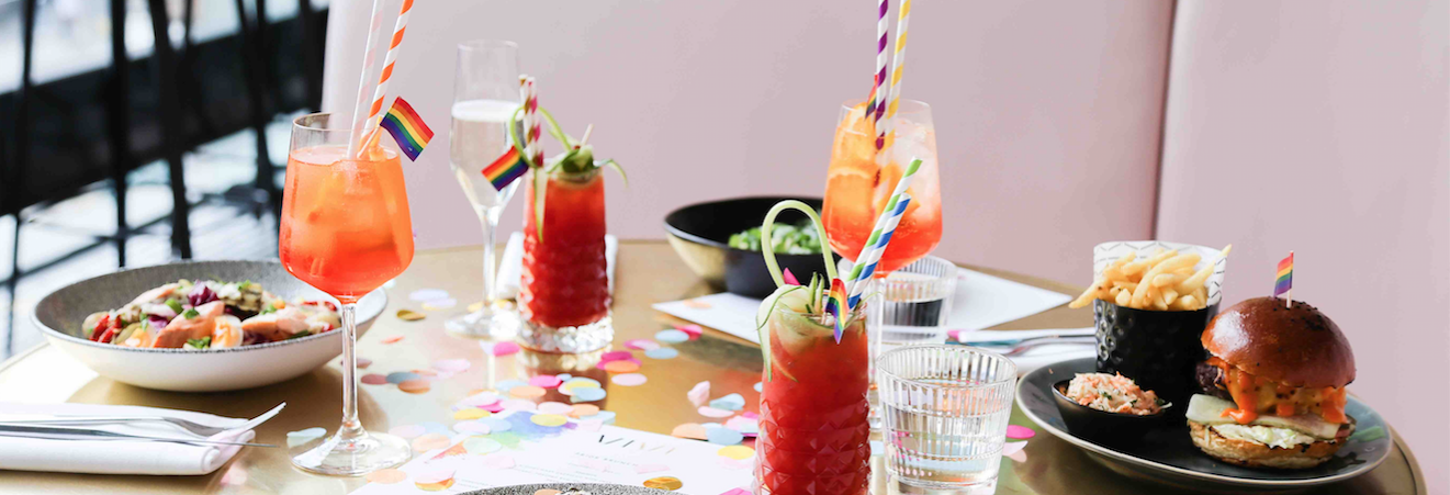 Bottomless Rainbow Brunch Party: Celebrate Pride in London at VIVI Hero Image