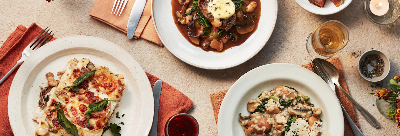 Carluccio's Celebrates the Autumn Mushroom Season Hero Image