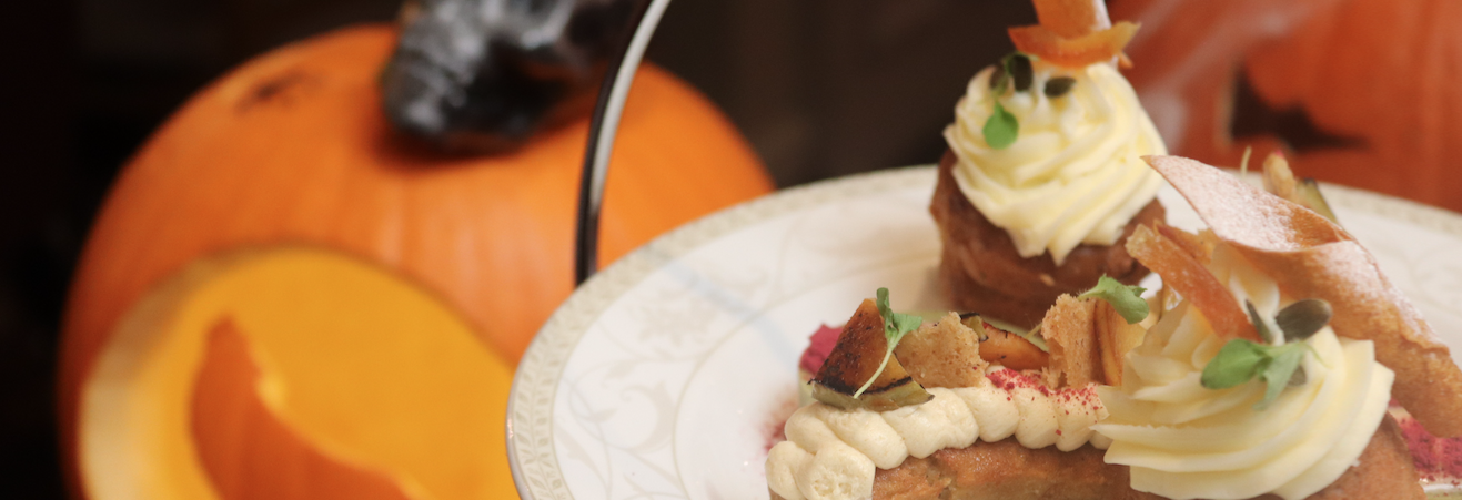 Deadly Delicious: Afternoon Tea Gets a Morbid Makeover at Down Hall this Halloween Hero Image