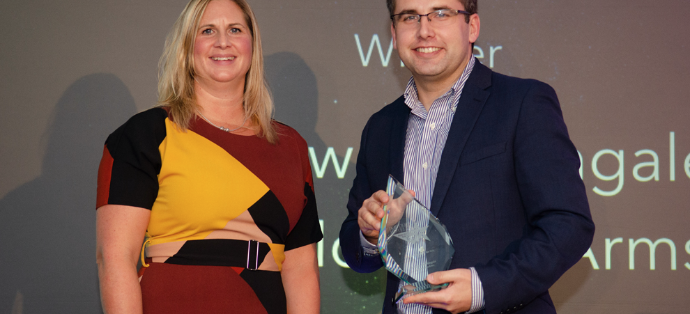 Andrew Nightingale of The Montagu Arms Named General Manager of the Year. Hero Image