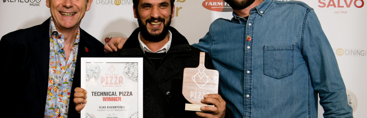 Foundry Project, Manchester, Awarded Best Technical Pizza by National Pizza Awards 2019 Hero Image