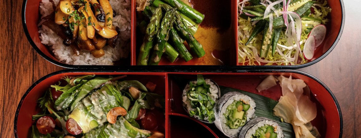 Revive Your Lunch Hour With Nobu London's New Vegan Bento Box Hero Image
