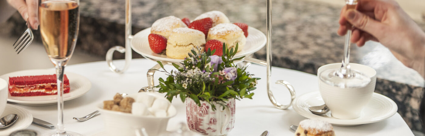 New Free-Flowing Prosecco Afternoon Tea Launches at The Capital Hero Image