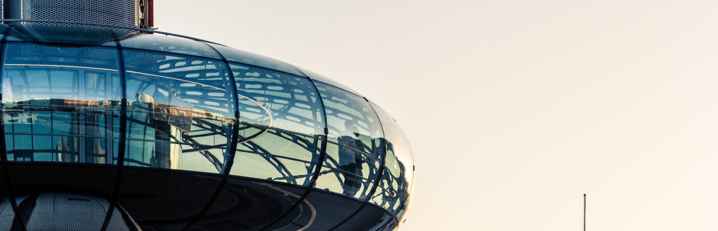 Enjoy a sky-high date at the British Airways i360 this Valentine's Day Hero Image