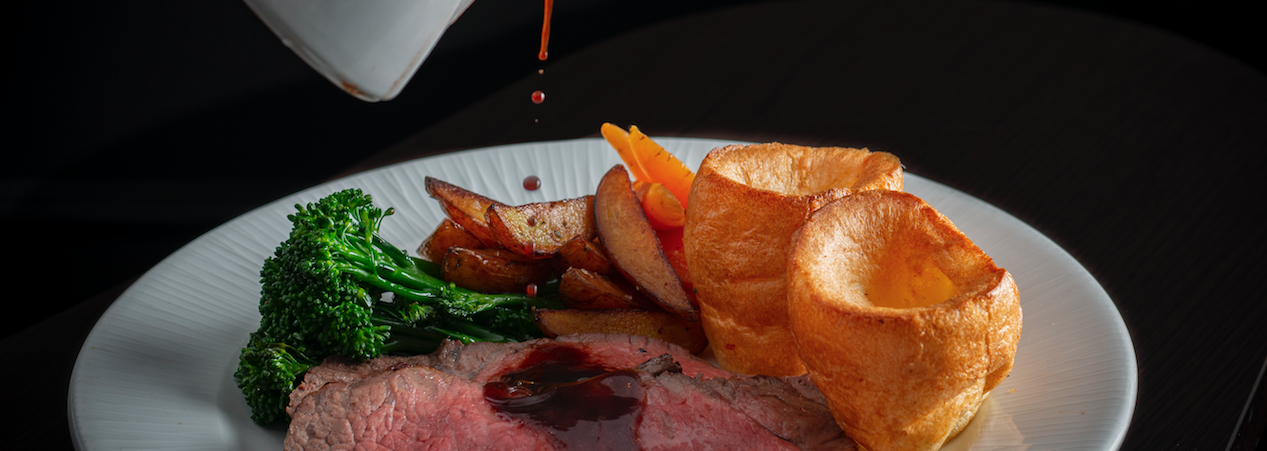 Go all in this Mother's Day at Heliot Steak House at The Hippodrome Hero Image