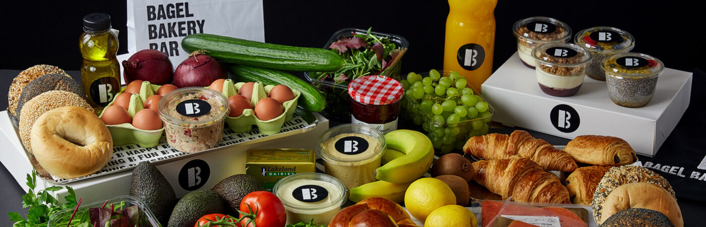 B Bagel Launches Brunch Delivery Packs & Grocery Box Service for Londoners Hero Image