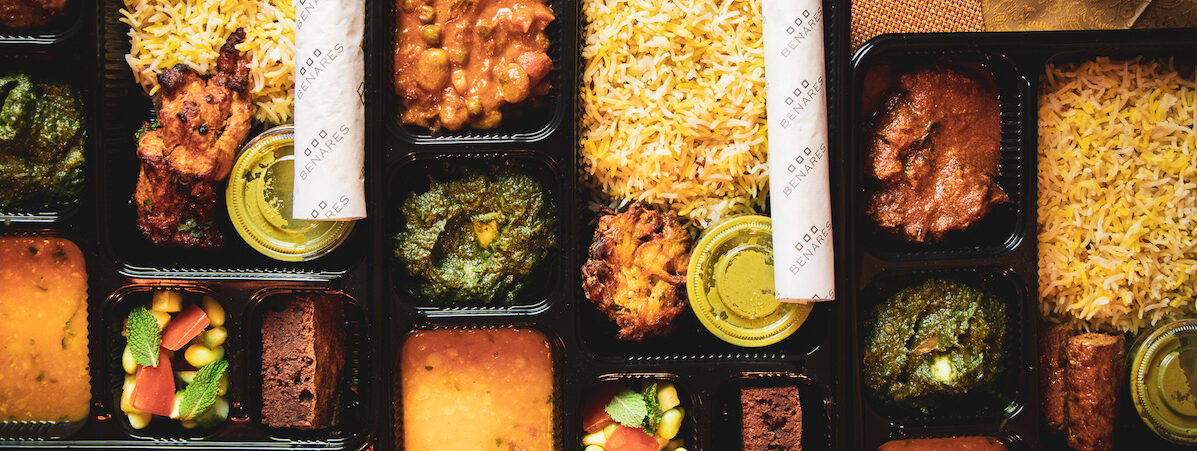 Benares Mayfair Launches Thali-To-Go & Curry Boxes Hero Image
