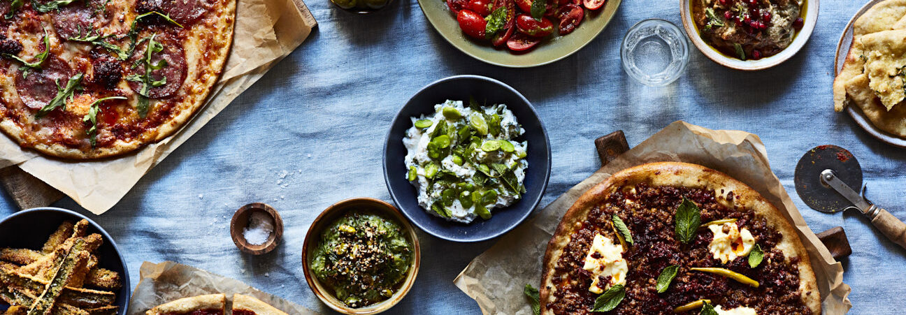 Say Hello to Modern, Mediterranean, Better For You Pizza Hero Image