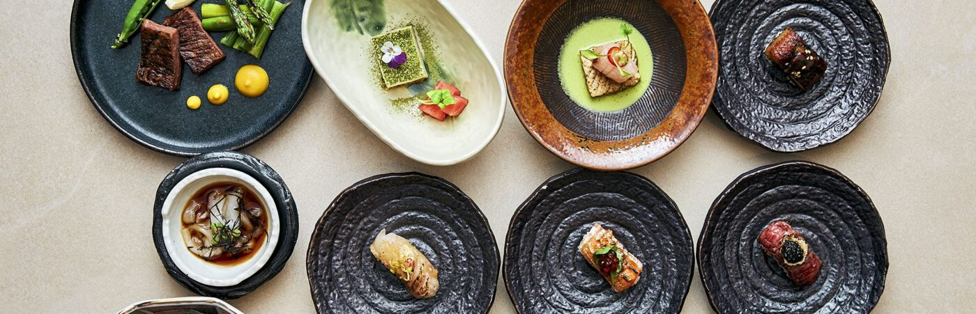 Hot Stone Reopens with Decadent New 14 course Omakase Menu Hero Image