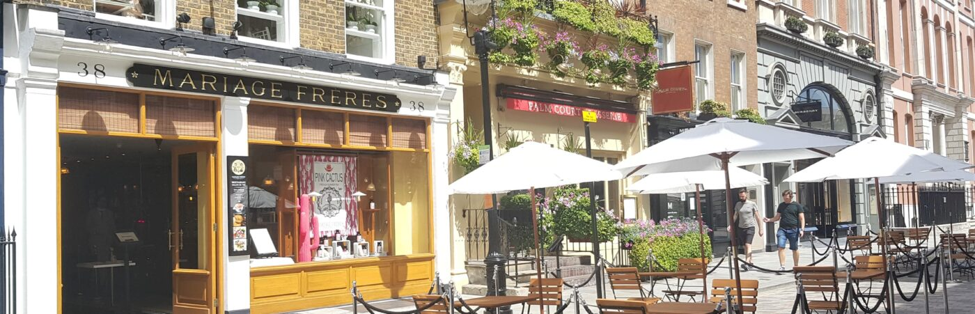 Mariage Frères Iced Tea Terrace Comes to Covent Garden Hero Image