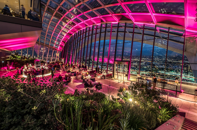 A Sky-High Starry Christmas and New Year with Moët & Chandon's Winter Wonderland at Sky Garden Hero Image