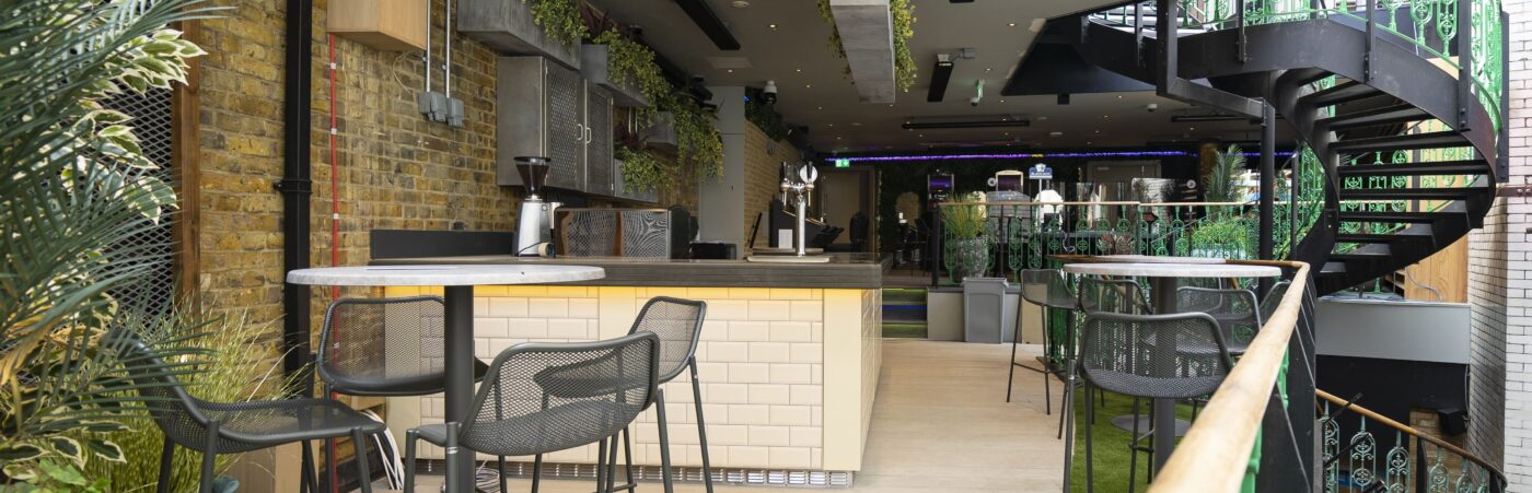 The Hippodrome Reopens with London's Newest Al Fresco Terrace Hero Image