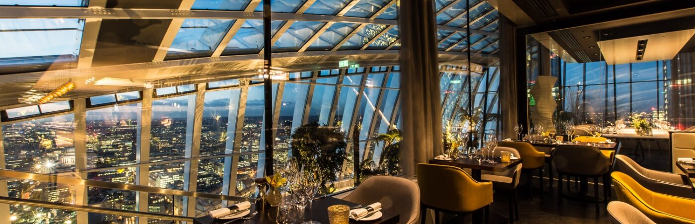 Sky Garden's Fenchurch is Back! With a New Chef and EOHO Offer for September! Hero Image