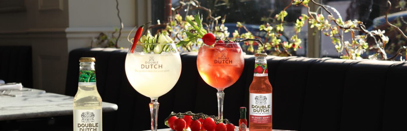 Double Dutch Launches Innovative Cocktail Soda Range Hero Image