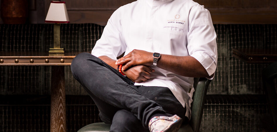 Chef Kerth Gumbs' Hosts Immersive 'Guy Fawkes Foraged Feast' Saturday 7th November Hero Image