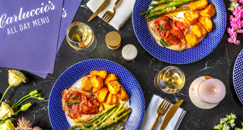 HelloFresh Launches Partnership With Carluccio's Hero Image