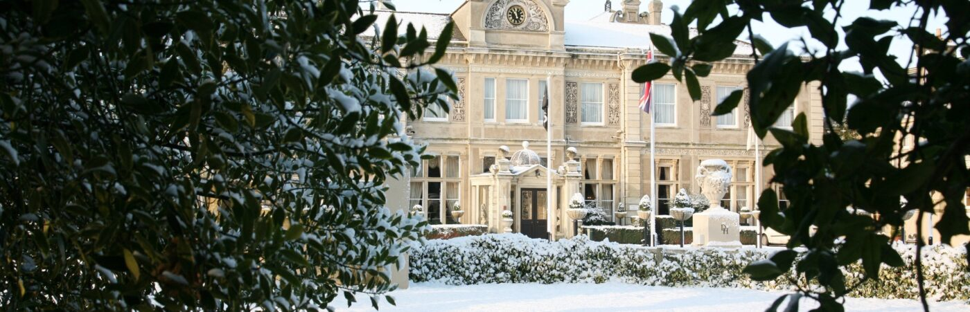 Celebrate the Magic of Christmas with Down Hall's Luxurious Christmas & New Year's Eve Packages Hero Image