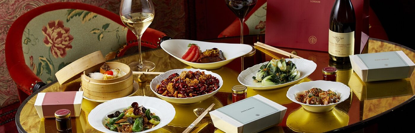 A Sense of Occasion Delivered to Your Door with Park Chinois At Home Hero Image