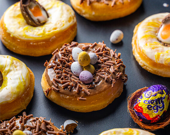 Creams Café Launches Eggs-Travagant Easter Desserts in Partnership with Cadbury Hero Image