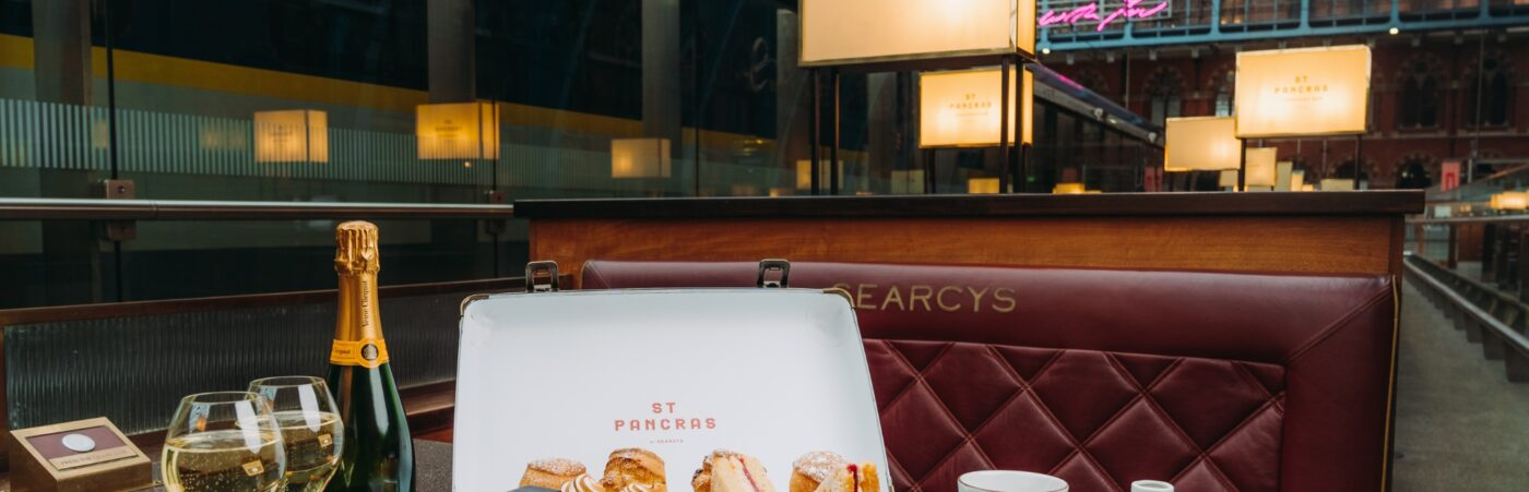 Bubbles with Your Bubble – St Pancras Champagne Bar by Searcys reopens for April Hero Image