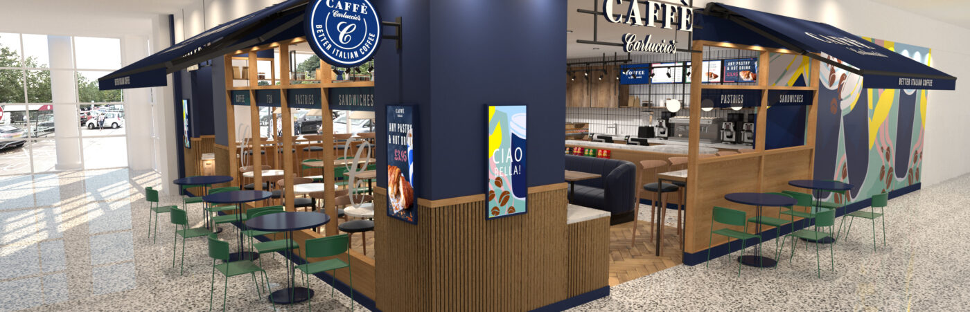 Carluccio's and Sainsbury's to trial Coffee Shop in St Albans Superstore Hero Image