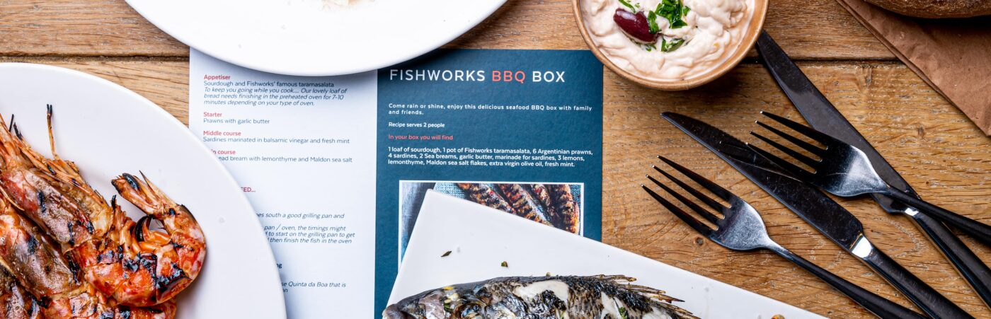 Fire Up The Grill with FishWorks BBQ At Home Kits Hero Image