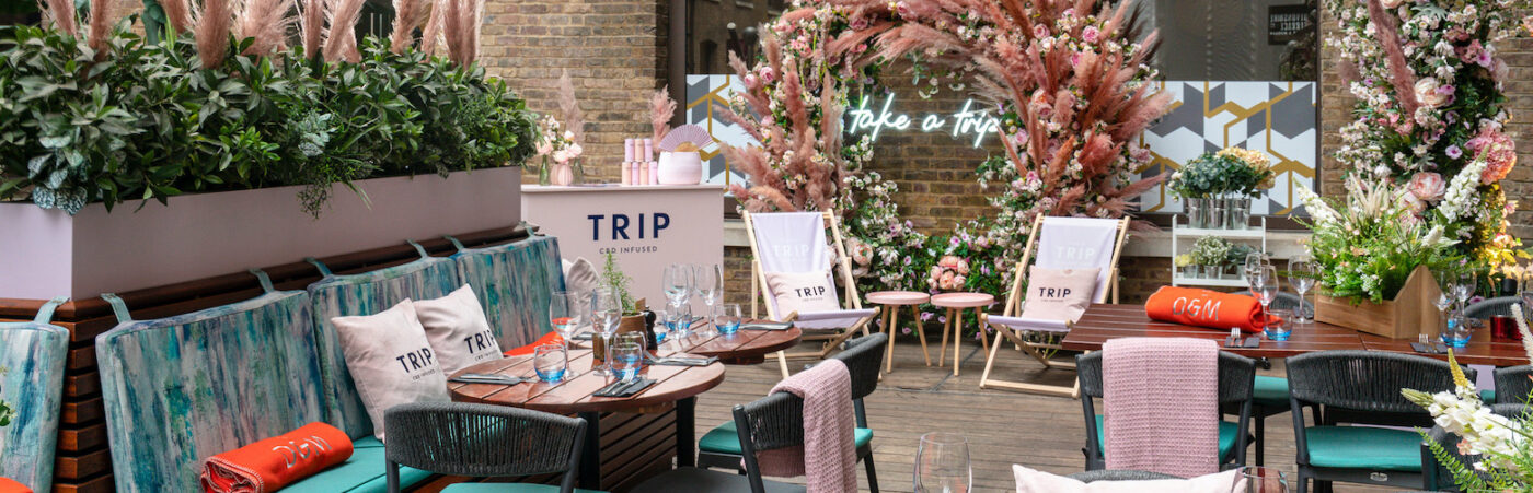 A Terrace of Tasteful Hedonism: Take a TRIP this Summer Hero Image