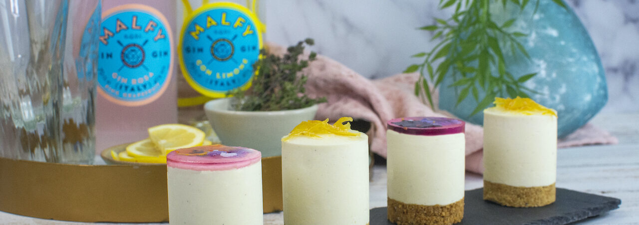 Enjoy La Dolce Vita with Gin-Infused Cheesecakes Hero Image