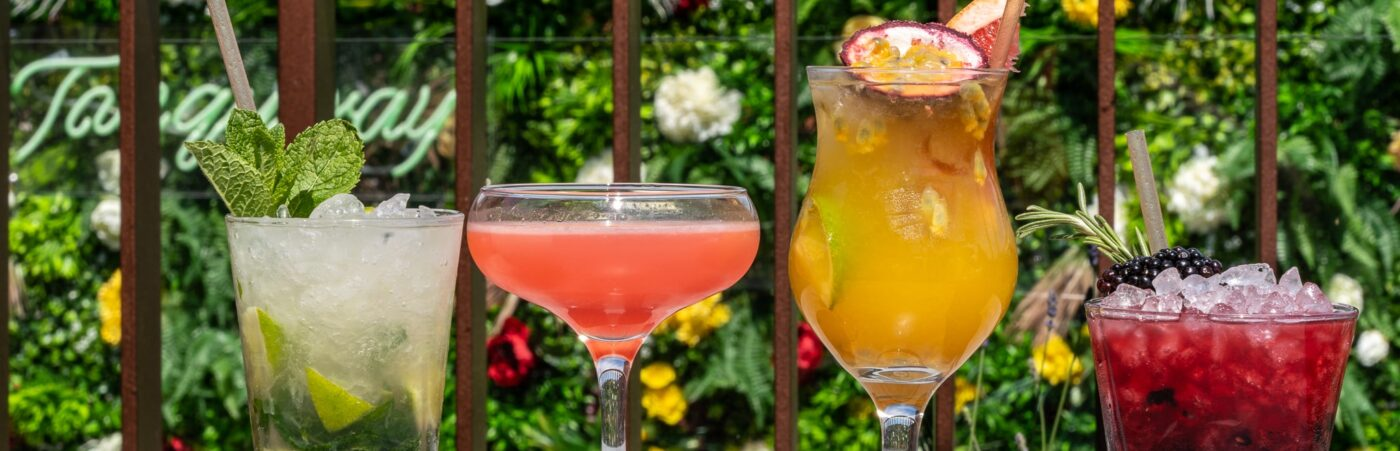 The Rooftop Partners with Tanqueray to Launch Summer Gin Garden Hero Image