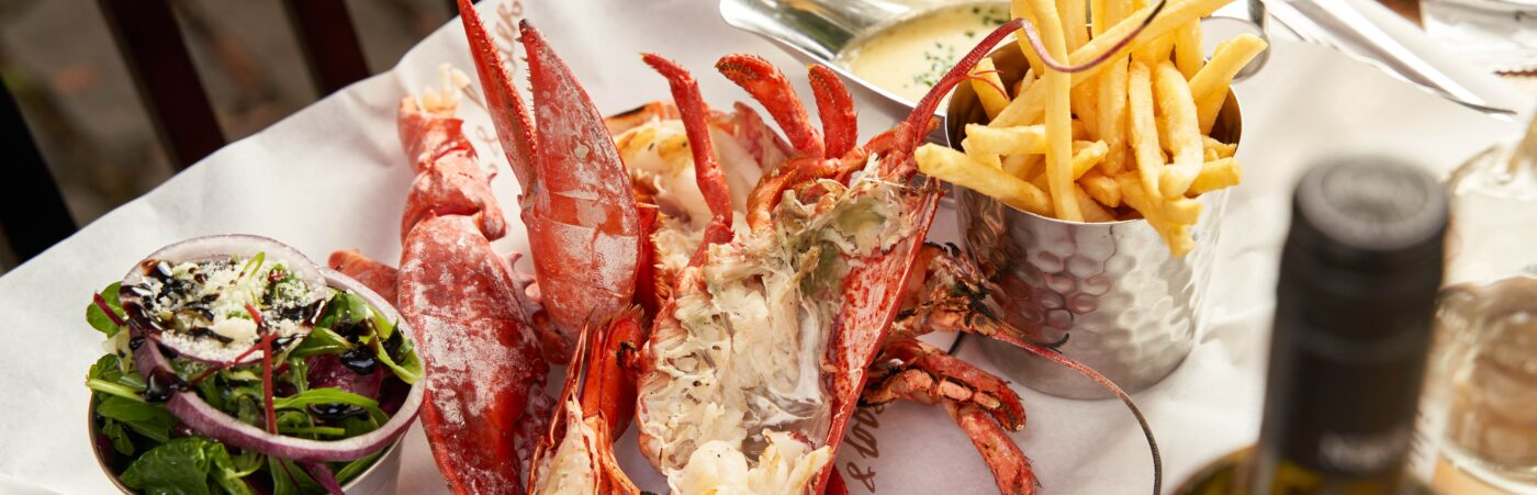 Taking it back to 2011 £20 Whole Lobster Lunch at Burger & Lobster Hero Image
