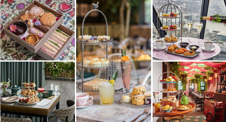 Where To Go For Afternoon Tea Week: The Best Experiences Across London And Beyond Hero Image