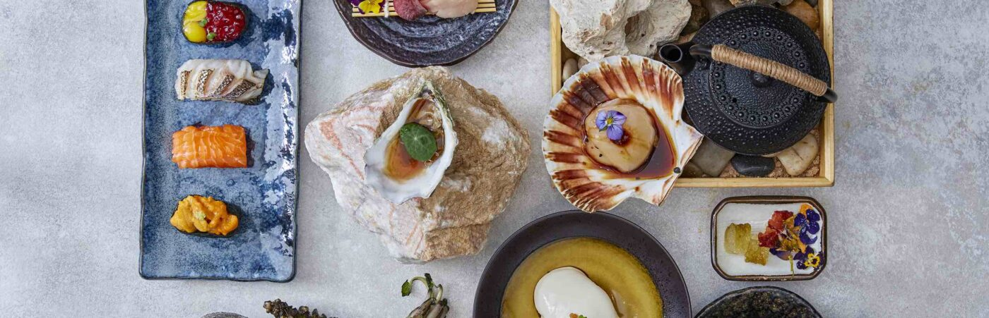 Exquisite and Elevated Japanese Dining Hot Stone's Omakase Menu Hero Image
