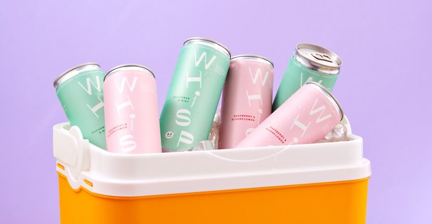 Get whisped away this summer with Whisp Drinks Hero Image